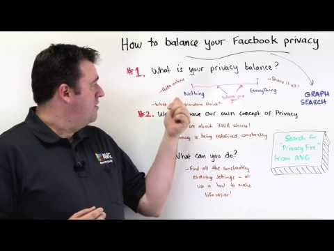 AVG's Michael McKinnon Discusses How to Balance Your Facebook Privacy