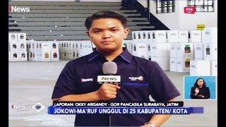 Jokowi-Ma'ruf Unggul di 25 Kabupaten/Kota di Jawa Timur - iNews Siang 19/04