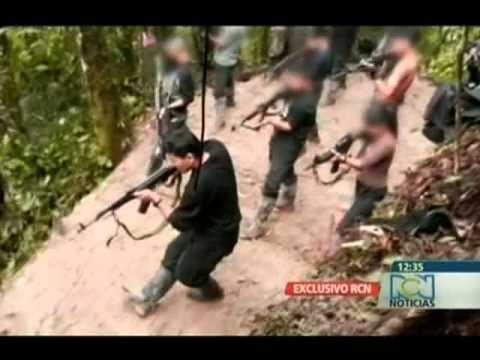 Noticias RCN: Así entrenan las Farc a menores de edad para el combate. DENUNCIA DEL EJÉRCITO