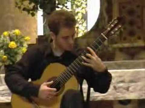 A.Josè, Sonata para guitarra (Finale) - raimondo mantione