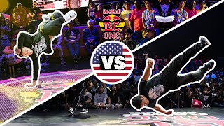 Red Bull BC One Cypher USA 2019 | Semifinal B-Boys: Ives vs Dosu