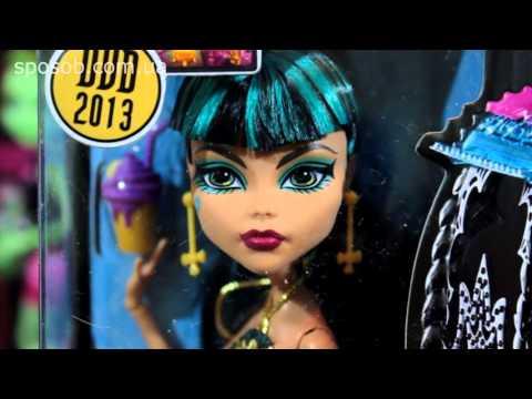 Видео обзор Клео Де Нил 13 желаний с оазисом кукла монстер хай