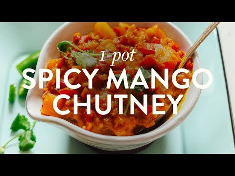 Spicy Mango Chutney | Minimalist Baker
