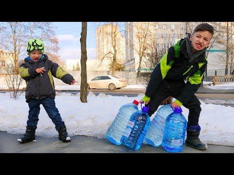 Сколько ПРОЖИВЕМ БЕЗ Воды! Артур НЕ ХОЧЕТ Ждать ! Для Детей Kids Children