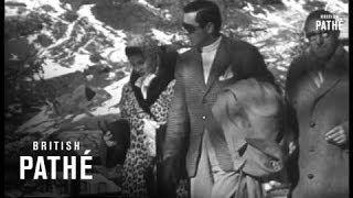 Tyrone Power And Linda Christian On Honeymoon (1949)