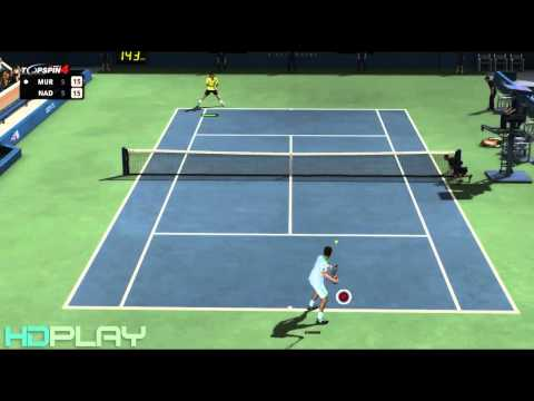 Top Spin 4 - Murray VS Nadal Expert Difficulty (Commentary)