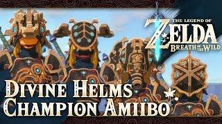The Legend of Zelda: Breath of the Wild - Part 71 - Divine Helms (Champion Amiibo)