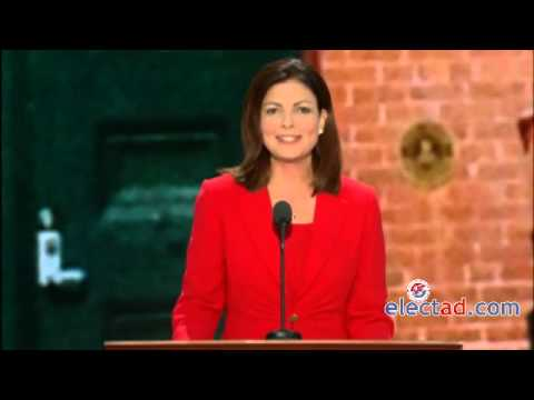 Kelly Ayotte Addresses The Republican National Convention, Tampa, Florida    August 28 2012