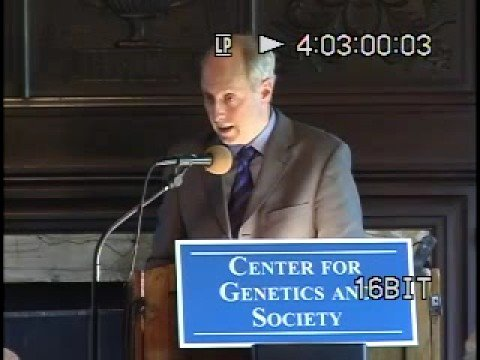 Harvard Prof. Michael Sandel on Human Genetic Modification, Berkeley, CA, 7 May 2007