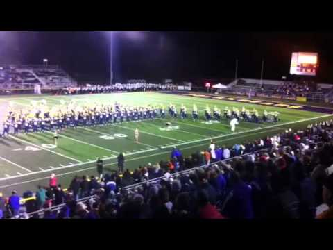 Jackson Polar Bear Purple Army Marching Band