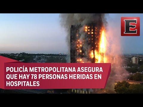 12 muertos deja un incendio en edificio de Londres