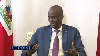 VIDEO: President Jovenel Moise Interview - Le Point - Tele Metropole - 28 Oct 2019
