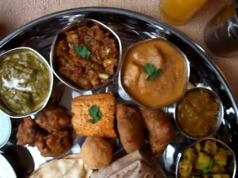 INDIAN FOOD - NORTH INDIAN THALI MEAL