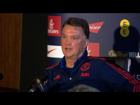 Manchester United vs Crystal Palace - FA Cup Final - Louis van Gaal Says Fans Deserve FA Cup Win