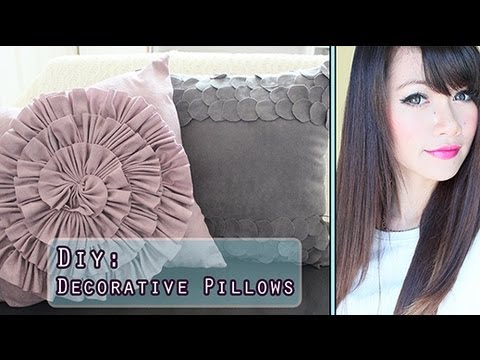 How To Make: Decorative Home Decor Pillows-Pier 1 Inspired