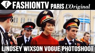 Lindsey Wixson for Vogue Russia - Photo Shoot with Alexi Lubomirski (SEPTEMBER ISSUE) | FashionTV