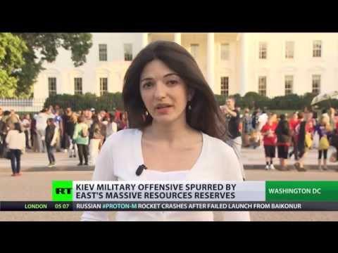 Gas Guzzler: US, Kiev after huge natural resources in E.Ukraine
