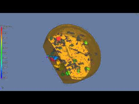 CT scan of a Pharmaceutical Tablet 2