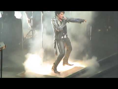 """Whole Lotta Love""- Adam Lambert in Pittsburgh, PA 8-22-09"
