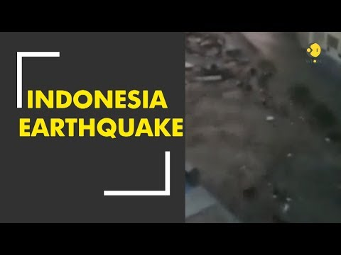 Breaking News: Powerful earthquake strikes Indonesia