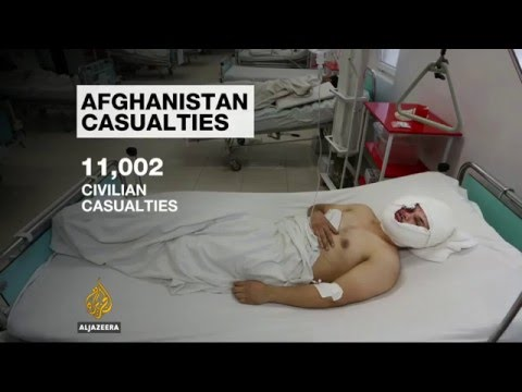 UN: More than 11,000 Afghans killed in 2015