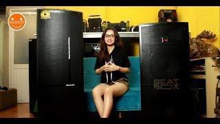 Trải nghiệm và so sánh Loa kéo di động 2 bass Best 8100 và Acnos BeatBox KB61
