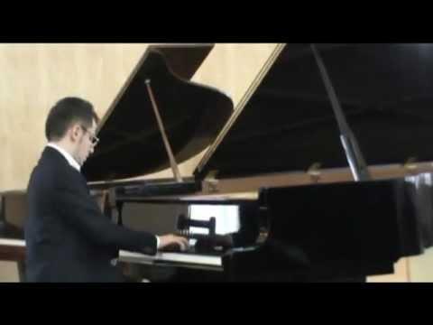 F. Poulenc Improvisation No. 15 Hommage a Edith Piaf. Kiknavelidze Luka.