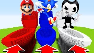 Minecraft: DO NOT CHOOSE THE WRONG TOILET (Sonic,Mario,Bendy)(Ps3/Xbox360/PS4/XboxOne/PE/MCPE)