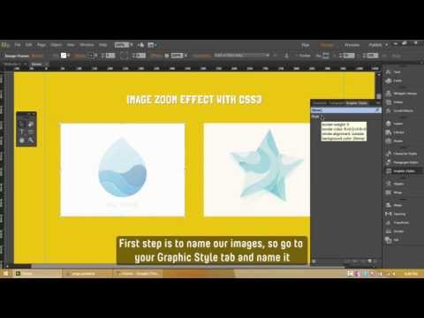 Adobe Muse CC – Image Hover Zoom Effect using CSS3