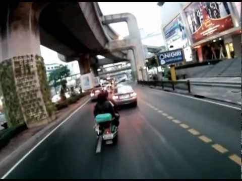 GoPro 2.8km cycling from work to apartment in Bangkok