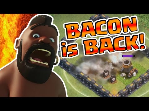GIANT BOMBS EXPOSED! Updated BACON! | Clash of Clans