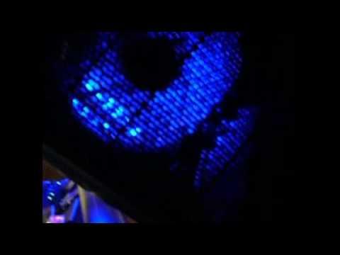 Installing blue LEDS in computer
