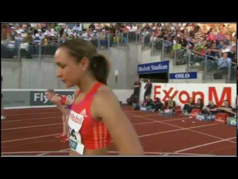 100m Hurdles Oslo Diamond League 2012 (Jess Ennis Disqualified)
