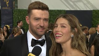 Download Lagu Emmys 2018: Jessica Biel Wants Justin Timberlake to Direct Her in a Project (Exclusive) Gratis STAFABAND