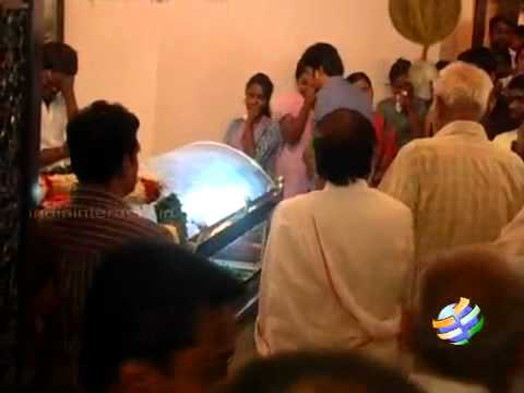 Last Respects to Ilayaraja Wife