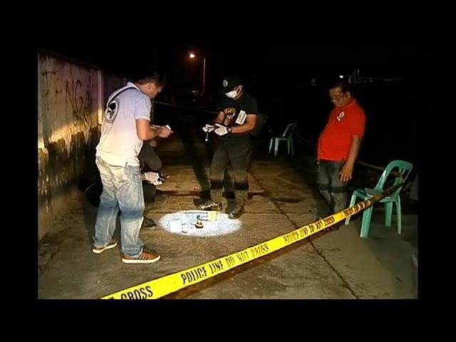 Drug raids in Philippines: 58 killed