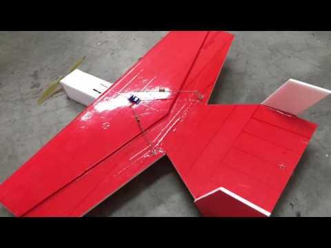 Diy Funbat Rc Plane maiden flight