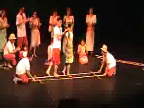 Philippine Tinikling (filipino Folk Dance) Slow & Fast! video