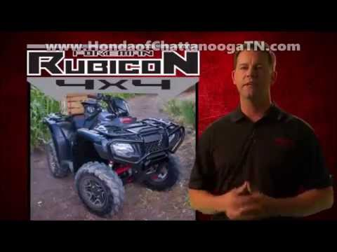 2015 Foreman Rubicon 500 ATV Review Specs / Features + MORE! Honda of Chattanooga 4 Wheeler Dealer