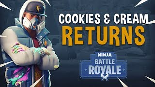 Cookies N Cream Returns! - Fortnite Battle Royale Gameplay - Ninja & Myth
