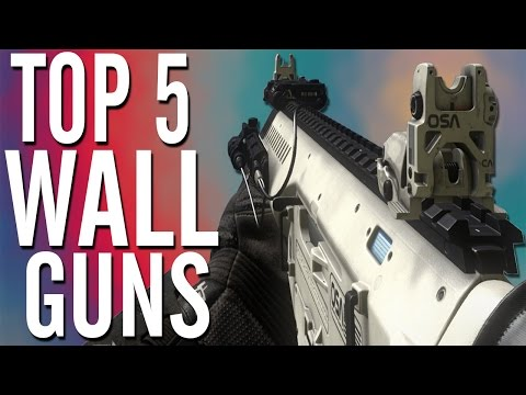 NEW Top 5 Wall Weapons Top 5 Wall Guns Top 5 Wall Buys Only in BLACK OPS 2 Zombies