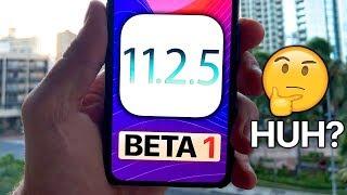 iOS 11.2.5 Beta 1! What