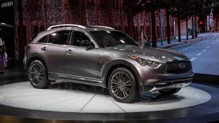 2017 Infiniti QX70 Redesign, Changes and Concept