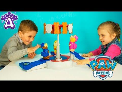 Щенячий патруль игра для детей распаковка PAW Patrol game for kids unpacking Розыгрыш игры для детей