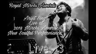Arijit Singh At Gima Awards 2018 😍 New Soulful  performance Lattest live.