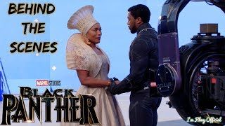 Black Panther Bloopers, B-Roll, & Behind the Scenes(BTS) - 2018  I'm Filmy Exclusive