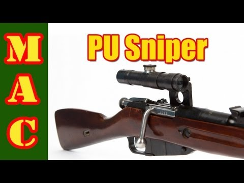 Mosin Nagant 91/30 PU Sniper Review