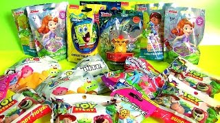 18 Pacotes Surpresa Blind Bags Princesinha Sofia Bob Esponja Disney Tsum Tsum The Lion King MLP