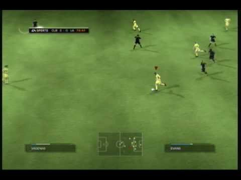 FIFA 09 Columbus vs. LA Galaxy full game PART 2 Video