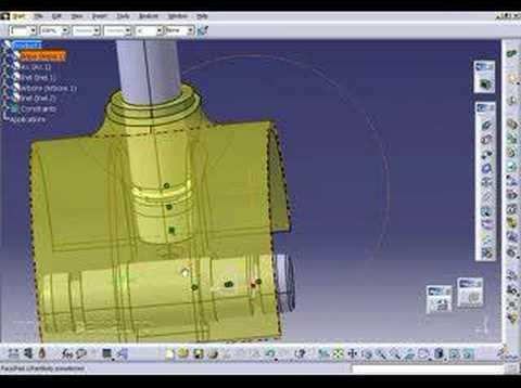 How to make an assembly in CATIA